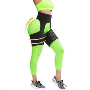 Magro Coxa Trimmer Leg Shapers slim Belt Sweat Shapewear tonificado Músculos Bandas Coxa mais magro Wraps