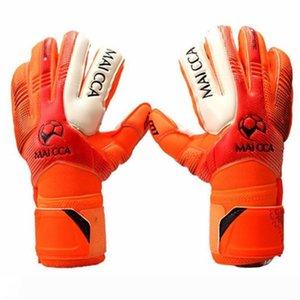 Professional Soccer Goalkeeper Glvoes Latex Finger Protection Fingerstall School Children kids Football Goalie Gloves free shipping