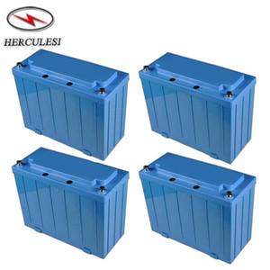 4 Pçs / lote Bateria Recarregável Ciclo Profundo 12 V 100 Ah Bateria Lifepo4 BMS Embutido Para O Armazenamento De Energia Solar