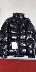Giacca Mens Hoodie autunno-inverno giù ricoprono il Windbreaker Jacket Pocket Zipper spessi Giacche Outdoor impermeabile Abbigliamento Uomo