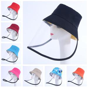 chapéu de pescador Protective Cap Anti-bacteriana Isolamento Aeolian Areia Poeira Hat Eye proteção epidemia prevenção Máscara Protetora