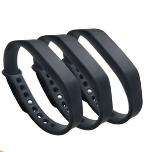500pcs 125khz Adjustable ID Silicone Waterproof RFID Wristband Bracelet Keyfob Token TK4100 ID Tags Black Swimming Pool Sauna Room