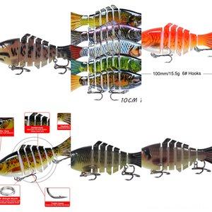 QUg9J baitset Luya crevettes douce lumineuse bionique fausse lumineuse de pêche appât # 5555 calmars appât Blackfish