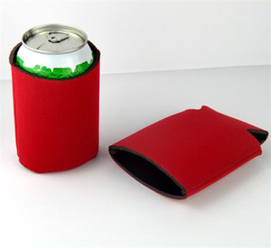 Blank Many Colors Neoprene Cooler Foldable Holders Stubby Wholesale ST892 Bags Cover Wine Food Cans Beer For Lpgue