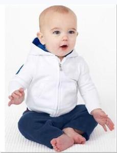Garçons Fille Toddler Enfants bébé Designer Survêtement mince Top Polo à capuche Pant Set pour le cheval Big enfants Manteau Pantalons Vêtements