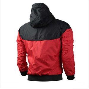 Marque Sweat-shirt à capuche Homme Femme Windrunner Veste Manteau à manches longues avec logo Automne Sport Zipper windcheater Stylistes Hommes Plus S
