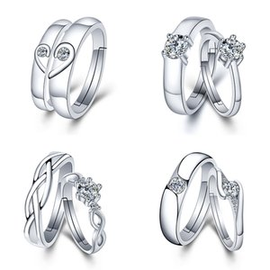 1pcs Lovers Rings for Men and Women Party Favors Gift for Girlfriend Bracelet Valentines Gifts for Wedding Souvenir Party