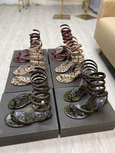 Designer's new serpentine heels, banquet shoes, serpentine sandals, sizes 35-40, with box and dust bag