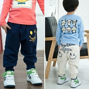 Retail 2015 New spring autumn cotton kids pants Boys Girls Casual Pants 2 Colors Kids Sports trousers Harem pants Hot