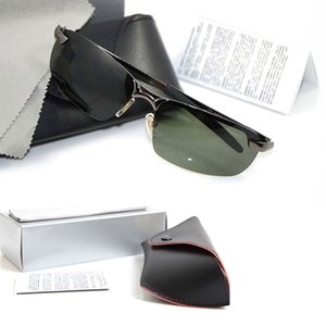 10 STÜCKE Hohe qualität Polarisierte herren Sonnenbrille Markendesigner Sun glassess Frauen brille Metall Markendesigner sonnenbrille mit Original fall