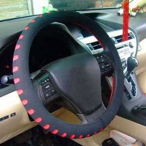 Hotsale Car Steering Wheel Cover Universal Fit For Most Cars 37-38cm Diameter EVA Material Punching Car-styling Interior Accessories
