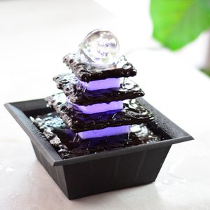 Feng Shui Water Fountain Home Decoration holiday Gifts garden ornaments new year gifts office desk decoration HWD56