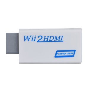 Wii Hdmi adapter Wii2HDMI Wii to HDMI converter Full HD 1080P 3.5mm audio video output