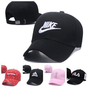 Оптовые дешевые популярный бренд женщины дизайнерские шляпы классические бейсболки вышивка роскошный спортивный мяч шляпа открытый путешествия пляж зонтик шляпа