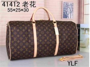 FBG1 2020 homens duffle mulheres saco de viagem sacos de bagagem de mão saco designer de viagens de luxo homens pu bolsas de couro grande saco corpo cruz totes 55cm