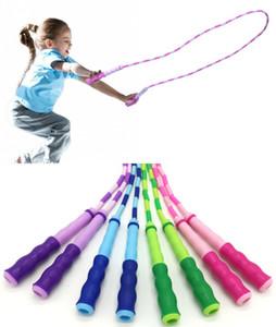 DHL NAVE Il bambù Festival del modello salto della corda per la perdita di peso e forma fisica di esercitazione per i bambini e per adulti Bead Rope Skipping Rope FY7058
