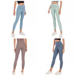 LU Übung Yoga Strumpfhose-Hosen-dünner Normallack-elastische hohe Taillen-dünne Gamaschen Hose Womens Sexy Hosen weiblich Bekleidung Bekleidung 44dq E19