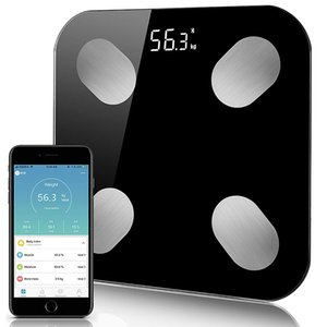 Scientific Body Fat Scale Floor Smart Electronic LED Digital Weight Bathroom Scales Balance Bluetooth APP Android IOS