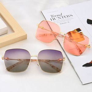 2020 Popular Sunglasses Women Designer Glasses Square Style Full Frame Top Quality UV Protection Mixed Color With Box