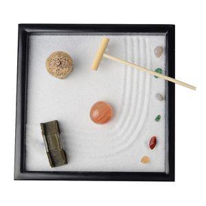 Zen Garden - Sabbia, Roccia, e rastrello per il relax e la meditazione, per Zen giardinaggio