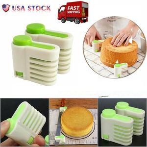 ABD Yeni Ekmek Dilimleme Kılavuzu Loaf Tost Sandviç Kesici Dilimleme Rehberlik Mutfak