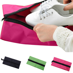 Fashion Waterproof Storage Bag Shoes Waterproof Portable Travel 600D Oxford Cloth Lightweight Durable 37*17 cm.