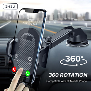 Sucker Car Phone Holder 360 Mount in Car Stand No Magnetic Support Mobile Cell Cellphone Smartphone For iPhone X Max Xiaomi