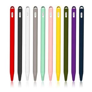Soft-Silikon Kompatibel Fall-Abdeckung für Apple-Bleistift 2 Schutz Kompatibel für iPad Tablet Touch Pen Stylus Schutzhülle Halter-Abdeckung