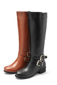 MORAZORA 2020 новая мода обувь женщина круглый носок молния осень зима сапоги квадратные каблуки однотонные цвета колено высокие сапоги женщин