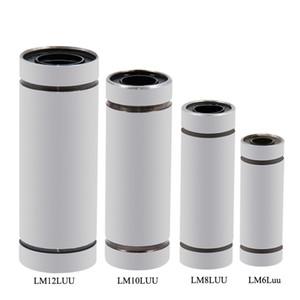 3pcs / Lot _ LM6LUU LM8LUU LM10LUU LM12LUU Bague Linéaire Roulement à Billes Pour Imprimante 3D Étendue Linéaire Roulement À Billes 3D Imprimante Pièces