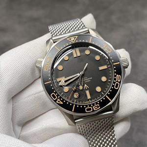 VS Factory Автоматическое механическое движение 8806 Таблица на 42 мм Титановый коричневый тропический алюминиевый кольцевой кольцо для поверхности круглую дуга износостойкий сапфи