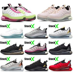 air airmax max 720-818 obj 최고 품질 남성 신발 2020 720-818 MX OJB 파도 쿠션 스포츠 깨끗한 흰색 대학교 레드 블랙 마그마 여성 운동화 스니커즈 36-45 실행