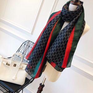 Luxus Designer Schal Soft Print Marke weichen Chiffon Silk Schals Designer Schal Sommer Strand Handtuch Chiffon Schal exquisite Schal