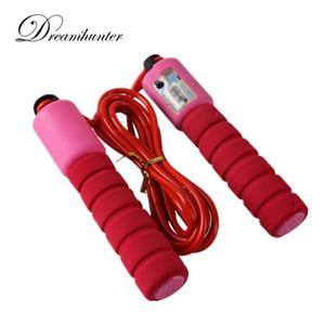 2.8 cm regolabile Palestra Sport Fitness Exercise Outdoor attrezzature per il fitness veloci velocità di conteggio di salto Skip Rope Calorie peso sciolto