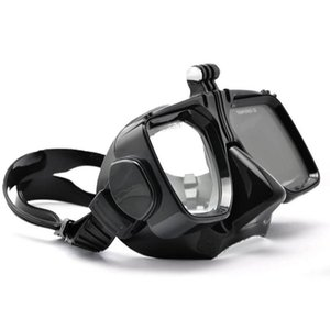For Go Pro Diving Accessories Gopro Hero7 6 5 4 SJCAM SJ4000 5000 6000 For Xiao yi Swim Glasses Diving Mask Mount Action Camera T200620
