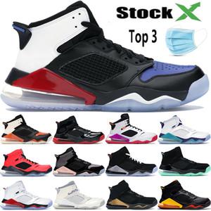 2020 Mars Jumpman 270S top 3 hommes chaussures de basket-ball baskets sport brisé Backbord PSG INFRAROUGE 23 raisin hommes réfléchissants 3M femmes concepteur