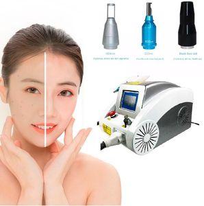 HOT sale Q switched ND YAG Laser 532 &1064 &1320nm Yag Laser Tattoo Removal Machine Price Carbon Laser Peel Machine