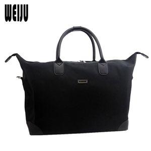WEIJU Men Travel Bag New 2017 Fashion Casual Business Travel Luggage Duffle Bags Large Capacity Nylon Waterproof Bags YA0545