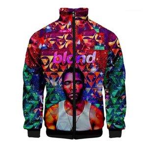 Vêtements Frank Ocean Hommes Automne Designer Sweats à capuche Lapel Neck 3D Imprimer Homme Vêtements mode style décontracté