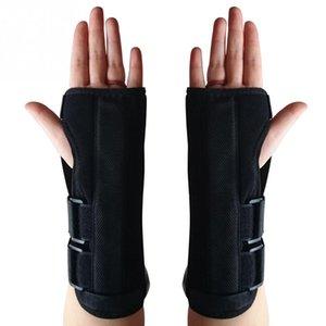 Pas cher Soutien Brace Adjust Wristband alliage poignet Brace poignet soutien Splint Fractures Carpal Tunnel Sport Entorse Souris Bandeaux main