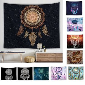 Wall Hangings Tapestry Creative Dreamcatcher for Room Bedroom Headboard Arras Carpet Astrology Blanket Polyester Towel Mat Home Decoration