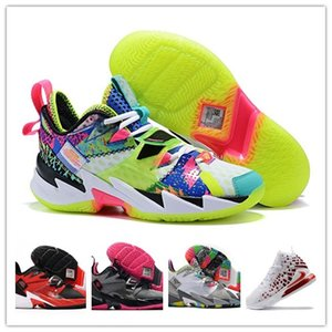 Mens 2020 Shoes Russell Westbrook Why Not Zero.3 III basquete para Sneakers Hot Sale Preto Branco Cinza Verde Sapatilhas Moda Esportes