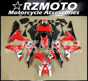 Top quality Injection mold New ABS Motorcycle Fairings Kit Fit For Honda CBR600RR F5 2007 2008 Bodywork set custom Red Black Fma