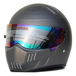 Full Face Motorcycle Helmet Motocross Racing Helmet Casco Man Woman Original DOT approved Multi-color Sun Visor