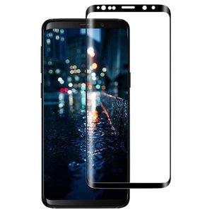 Samsung Galaxy S9 Plus Temperli Film Tam Ekran Kavisli için uygun