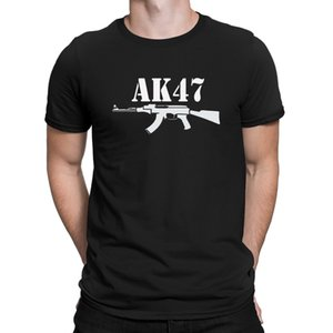 AK47 T-shirt graphique Creature famille T-shirt Respirant hommes Hip Hop Nouveauté Anlarach Grandes Tailles