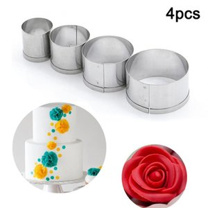 Cake ring cake biscuit mold cutter round stainless steel DIY soft candy mold DIY wedding cake