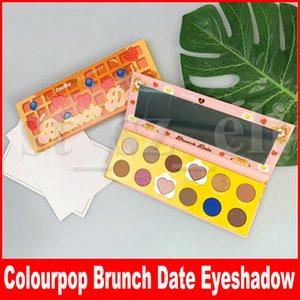 Zoella x Colourpop Eye Makeup Cake Ombretto Brunch Date 12 Colors Eye Shadow Pressed Powder Palette