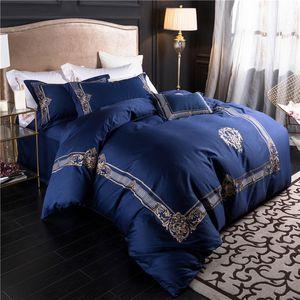 Взрывоопасные модели простая стирка четырехсекционный костюм мода big-name queen Bed одеяла наборы дизайнерских постельных принадлежностей пододеяльник 4 шт костюм 22
