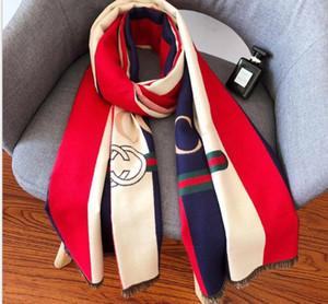 2020 qualtiy superiore di lana di lusso del modello della lettera uomini sciarpa uomini donne sciarpa di seta di lana cashmere designer scialle sciarpa sciarpe delle signore calde